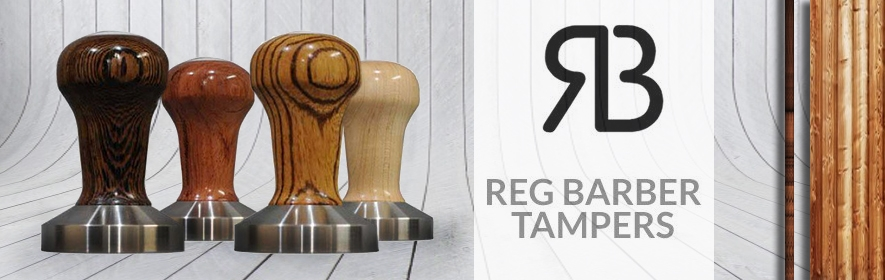 Reg Barber Tampers & Knock Box