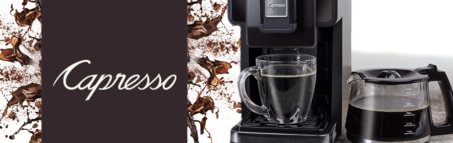 Capresso Coffee Makers, Grinders & Accessories