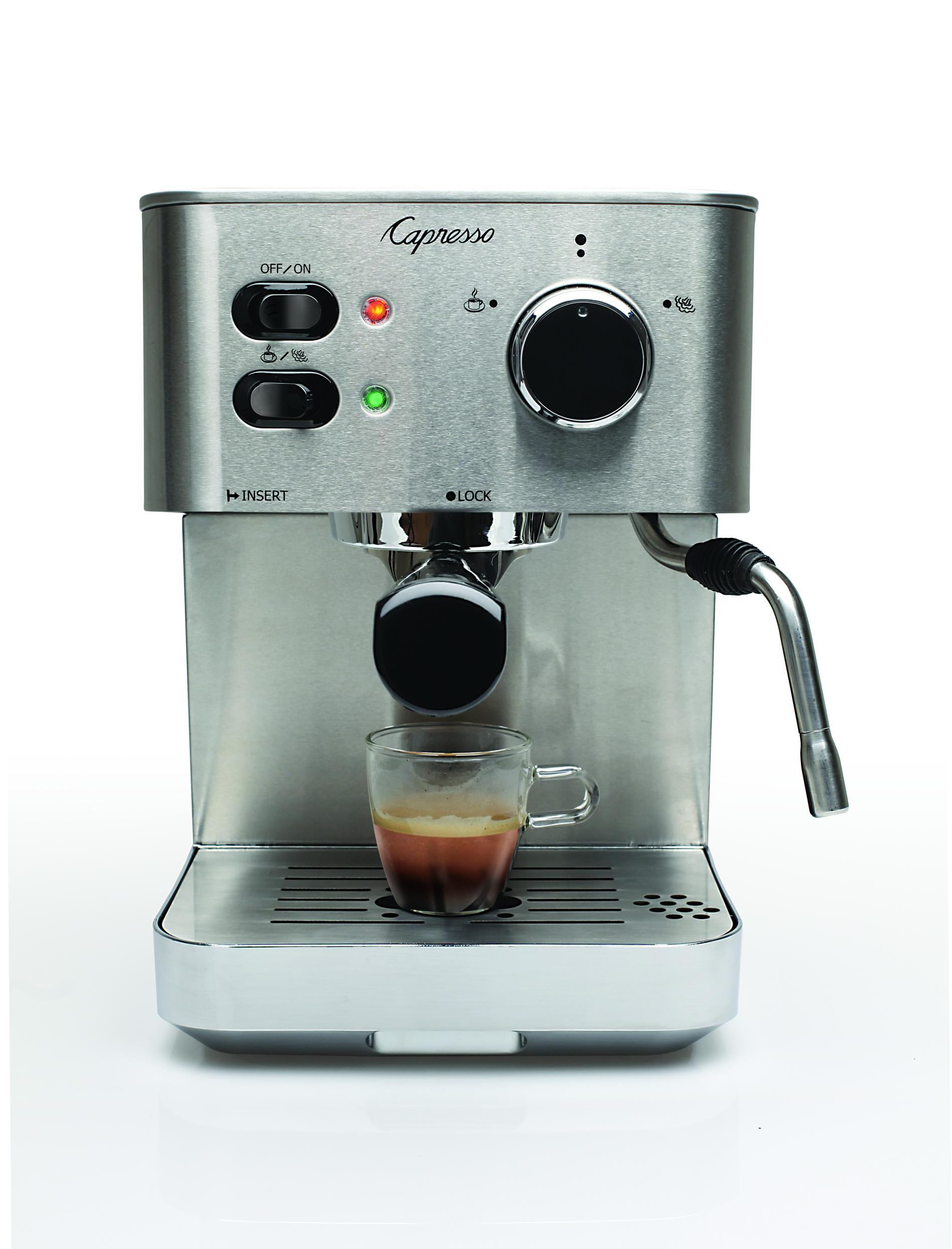 First Espresso Coffe Maker ~ Capresso ec pro espresso maker st in coffee