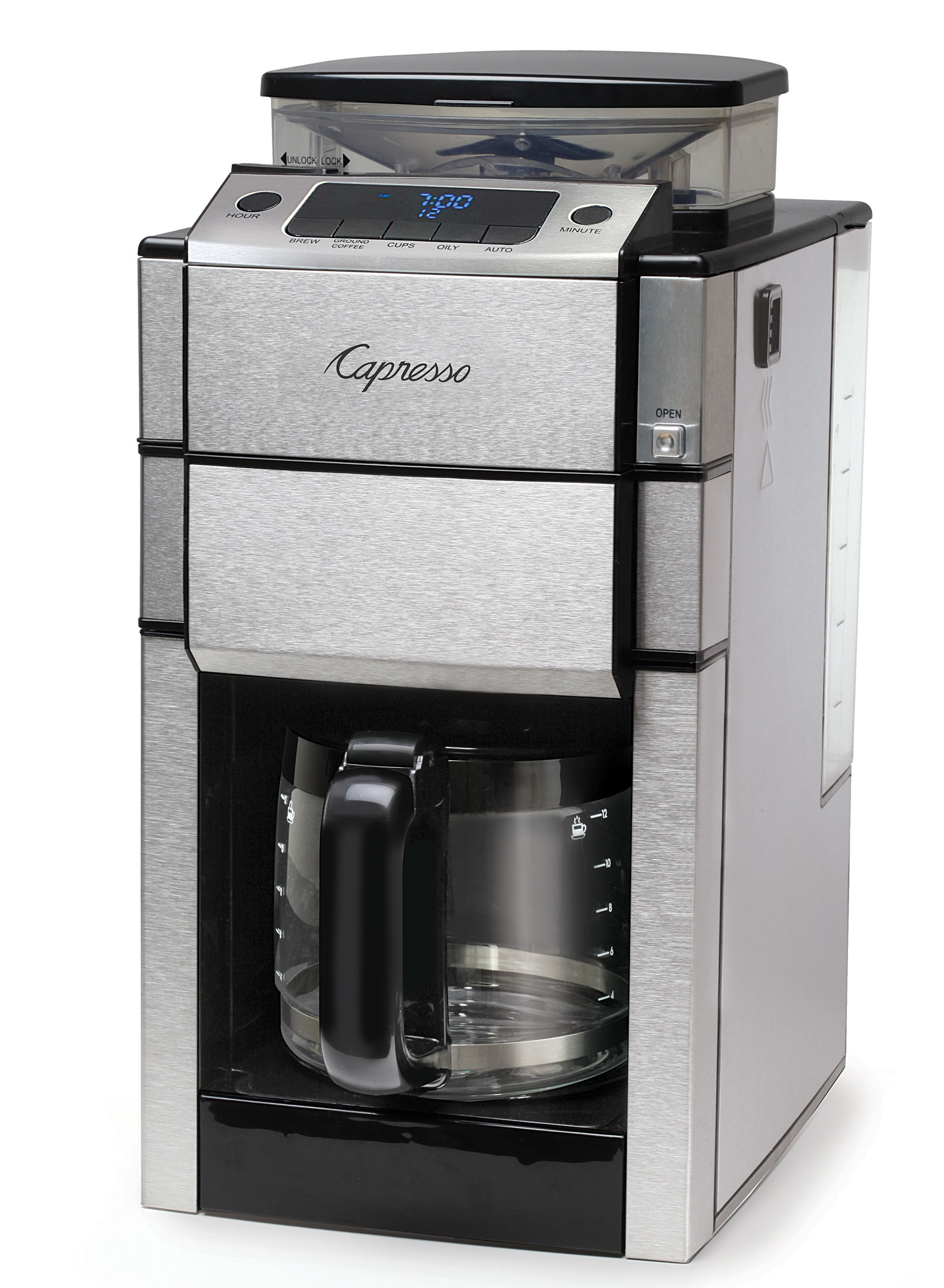 Capresso Coffee Team Pro Plus Capresso Coffee Maker With