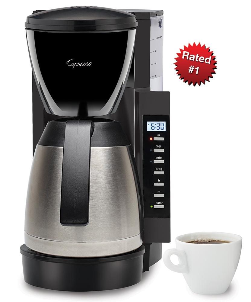 5 Cup Coffee Maker Capresso Cm300 Capresso Thermal Coffee Maker 1st In Coffee