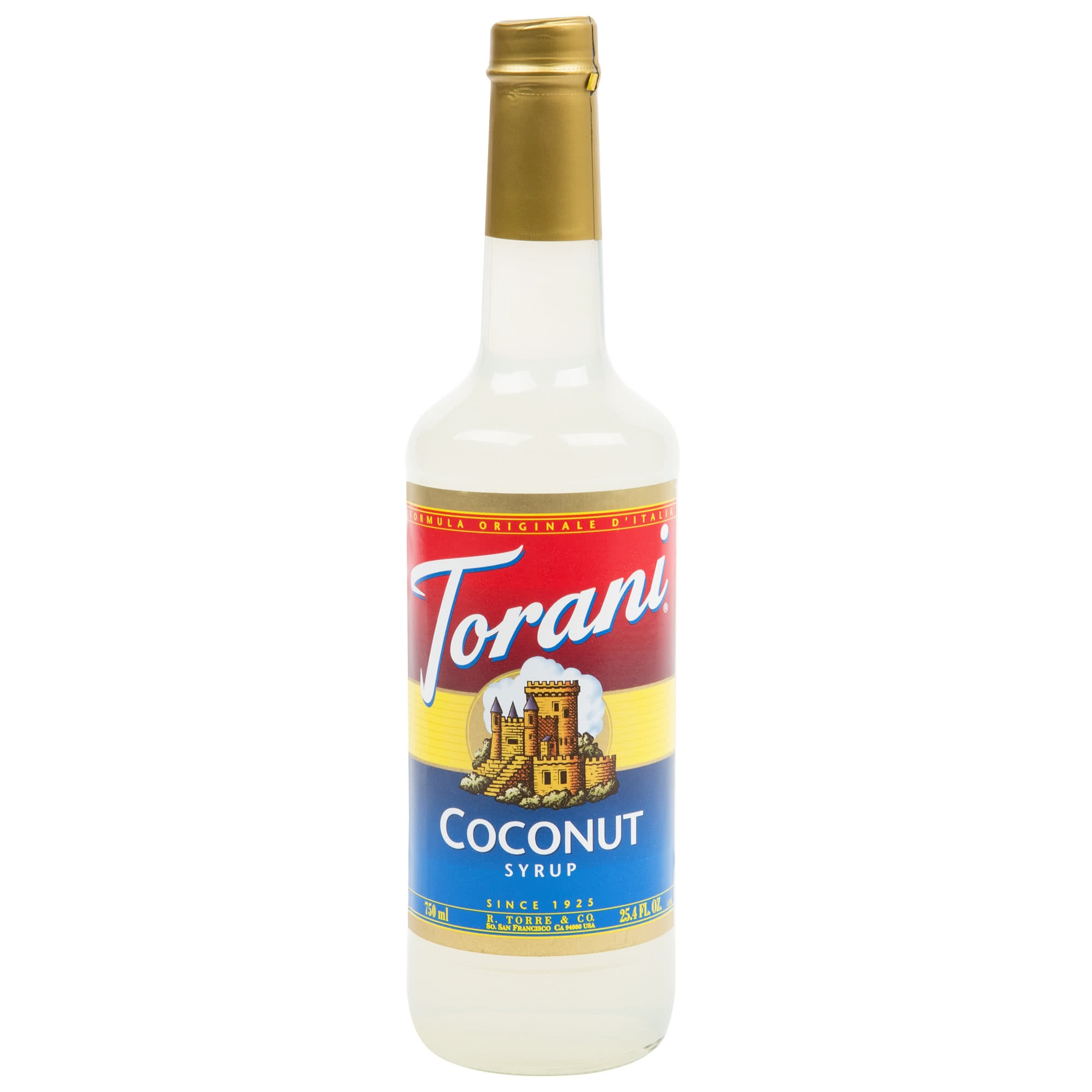Torani Hawaiian Coconut Syrup 750 Ml Bottle