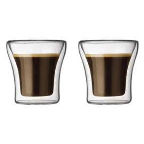 Bodum Assam 3 oz. Double Wall Cups - Set of 2