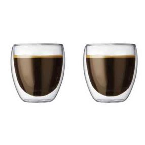 Bodum Pavina Double Wall 8.5 oz Set of 2
