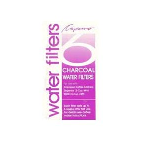 Charcoal Water Filters for Capresso #446/490