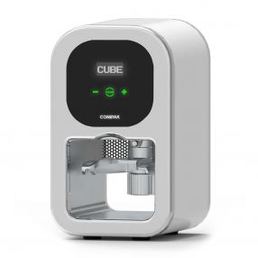 Compak Cube Tamp Automatic Coffee Tamper White
