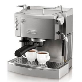 Delonghi 15 Bar Pump Stainless Espresso Maker
