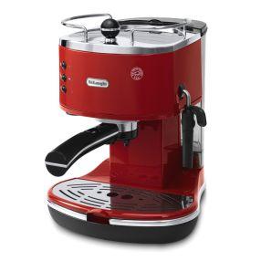 Delonghi Icona Espresso Machine in Red