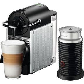 Nespresso Pixie Espresso Single Serve Machine + Aeroccino Frother