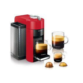 Nespresso Evoluo by Delonghi Coffee and Espresso Machine Red