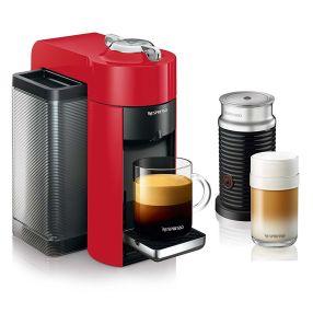 Nespresso Evoluo by Delonghi Espresso Machine with Aeroccino
