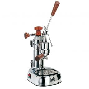 La Pavoni Europiccola Chrome & Wood
