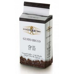 Miscela d'Oro Gusto Ricco Ground Coffee - 8.8 oz. brick