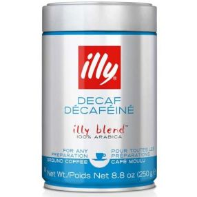Illy Fine Grind - Medium Roast - Decaf - Case of 6