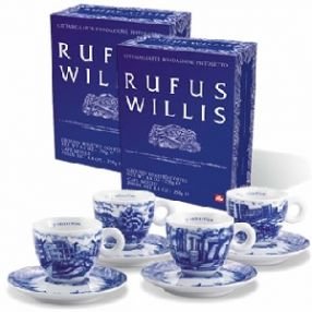 Rufus Willis 2005 Set of 2 Cappuccino Cups
