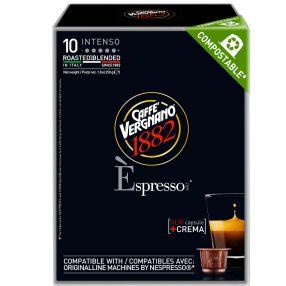 Caffe Vergnano Intenso 10 Nespresso Compatible Capsules