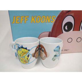 Jeff Koons 2004 Set of 2 Mugs