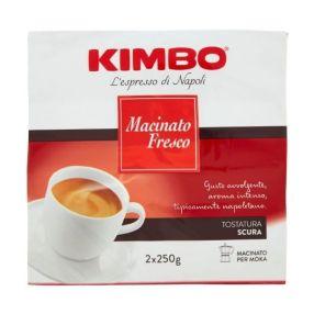 Kimbo Macinato Fresco 2x250 grams