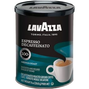 Lavazza Decaf Espresso 8 oz. can