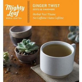 Mighty Leaf Ginger Twist 100 pouches foil wrapped