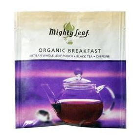 Mighty Leaf Organic Breakfast 100 pouches foil wrapped