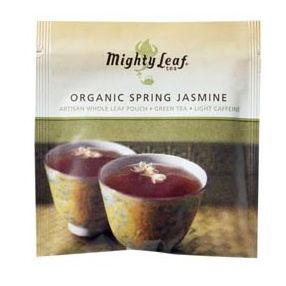 Mighty Leaf Organic Spring Jasmine 100 pouches foil wrapped