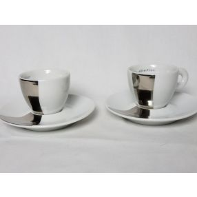 Pistoletto 2002 Set of 2 Espresso Cups