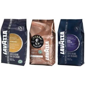 Lavazza whole bean sampler - Premium Blends