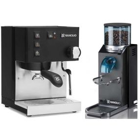 Rancilio Silvia and Rocky Package Black
