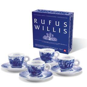 Rufus Willis 2005 Set of 4 Espresso Cups