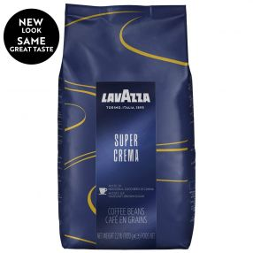 Lavazza Super Crema Whole Bean 2.2 lbs per bag