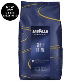 Lavazza Super Crema Whole Bean 2.2 lbs per bag