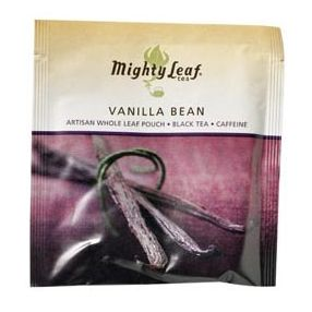 Mighty Leaf Vanilla Bean 100 pouches foil wrapped