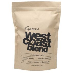 Capresso Whole Bean Coffee 1 lb West Coast