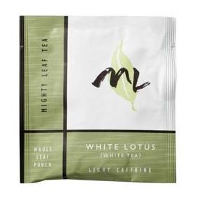 Mighty Leaf White Lotus 100 pouches foil wrapped