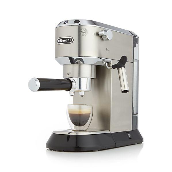delonghi dedica espresso machine delonghi ec680m 1st in coffee. Black Bedroom Furniture Sets. Home Design Ideas