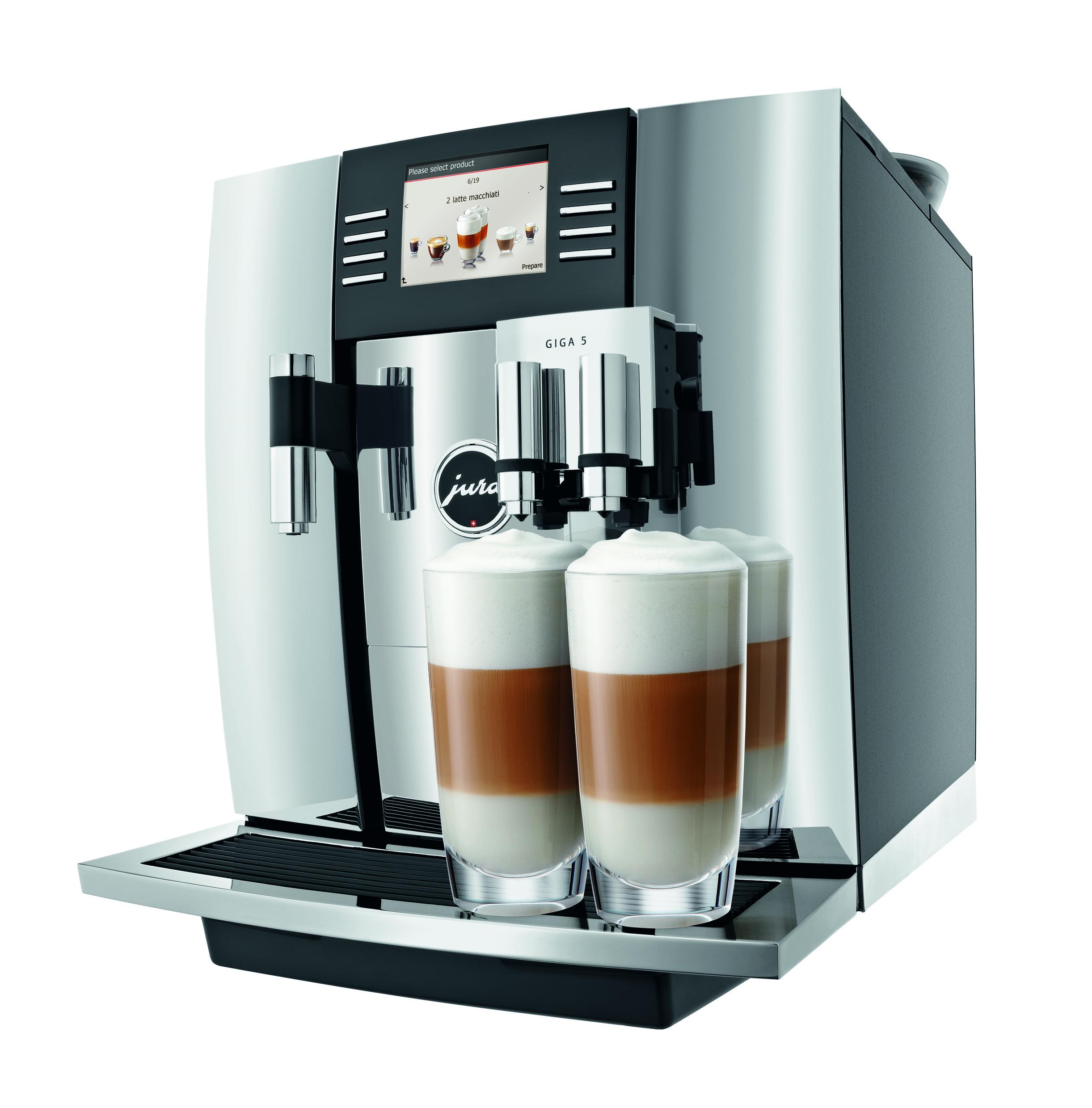 5 Cup Coffee Maker Giga 5 Jura Jura Coffee Maker 1st In Coffee