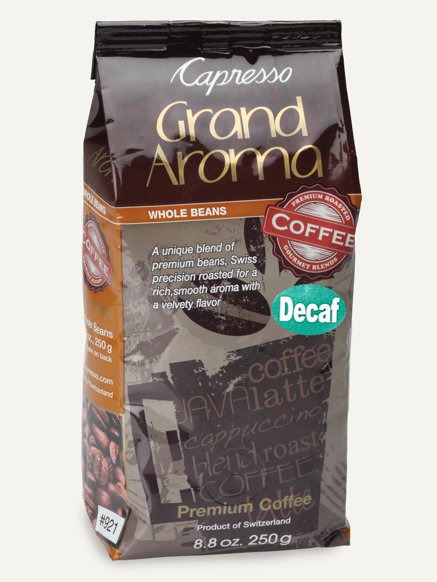 Capresso Grand Aroma Coffee Beans Swiss Roasted Coffee