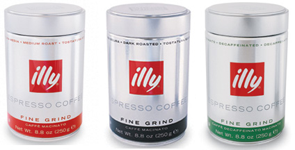 Illy espresso 3 pack Fine Grind