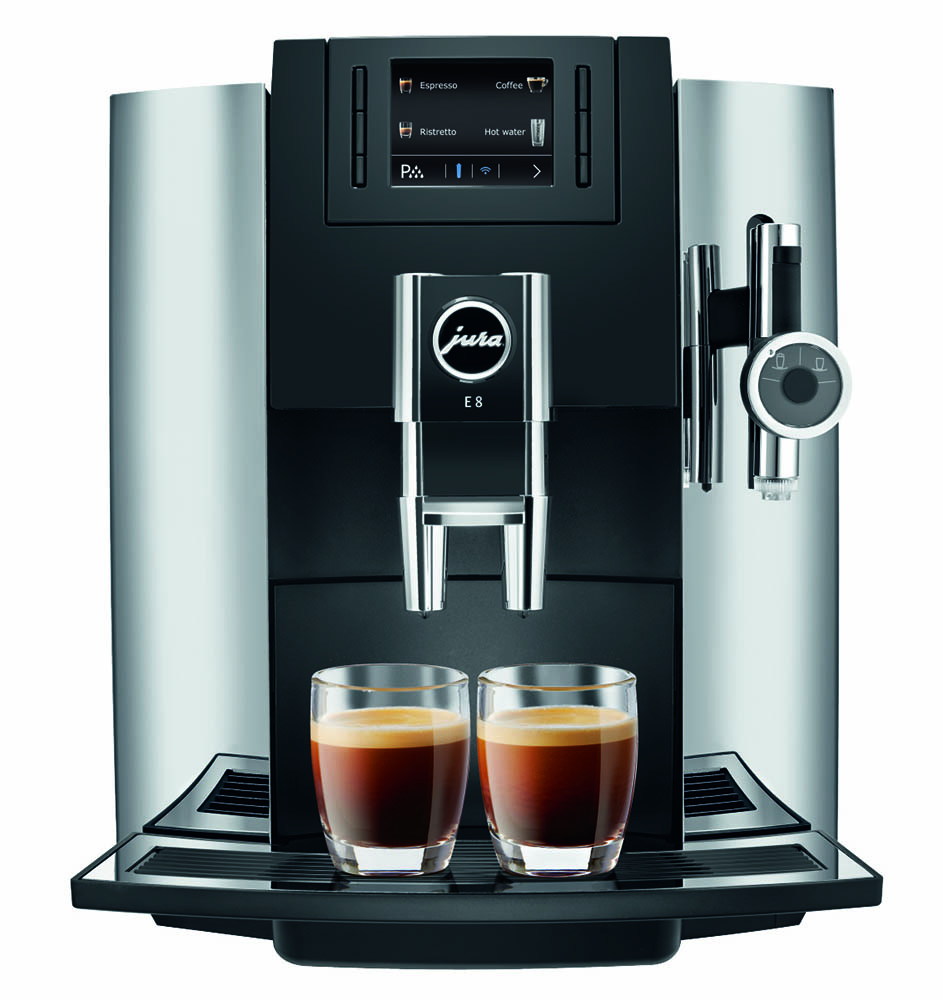 Jura E8 Chrome Jura E8 Automatic Espresso Machine 1st