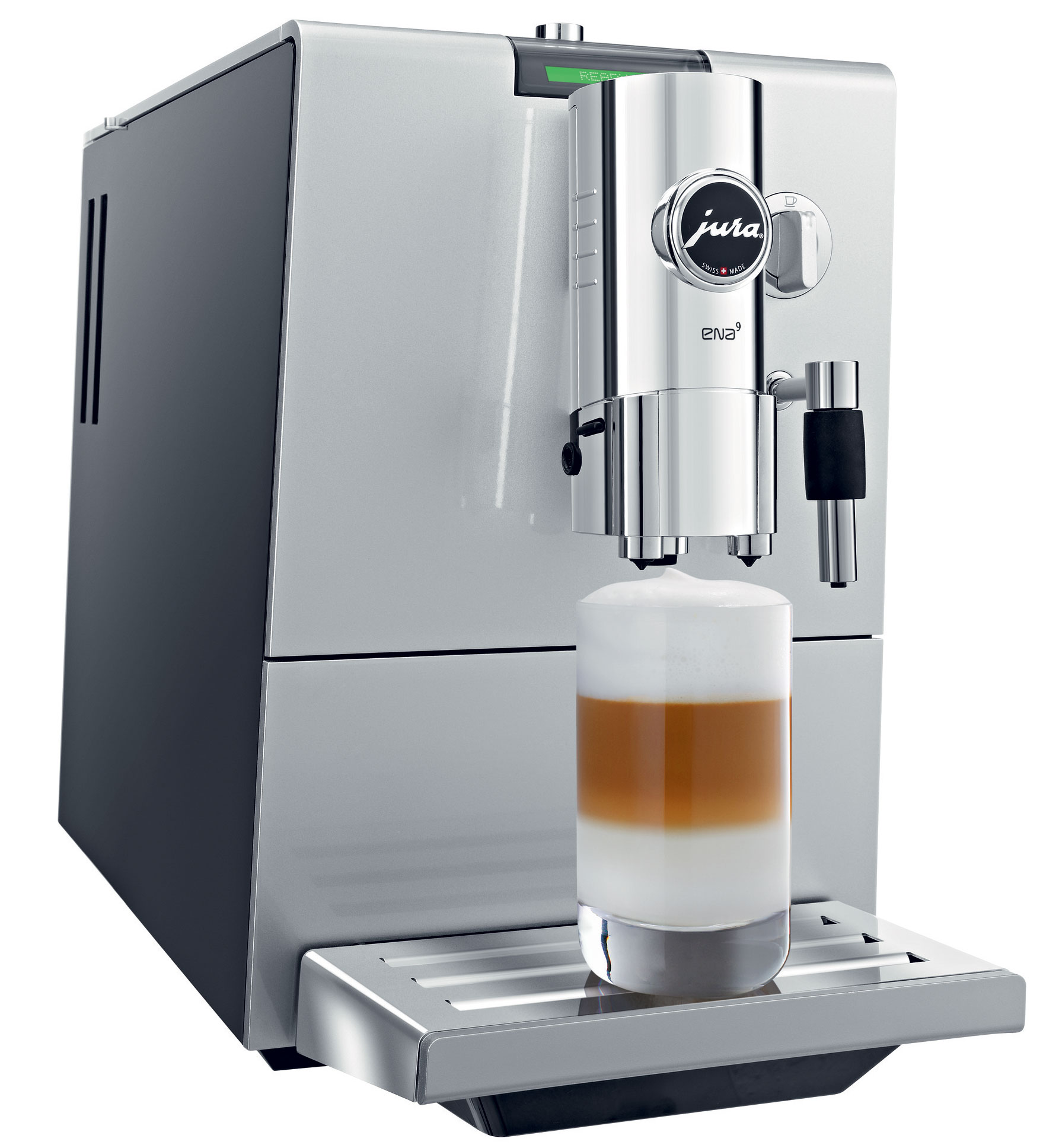 refurbished jura capresso ena 9 one touch automatic coffee. Black Bedroom Furniture Sets. Home Design Ideas