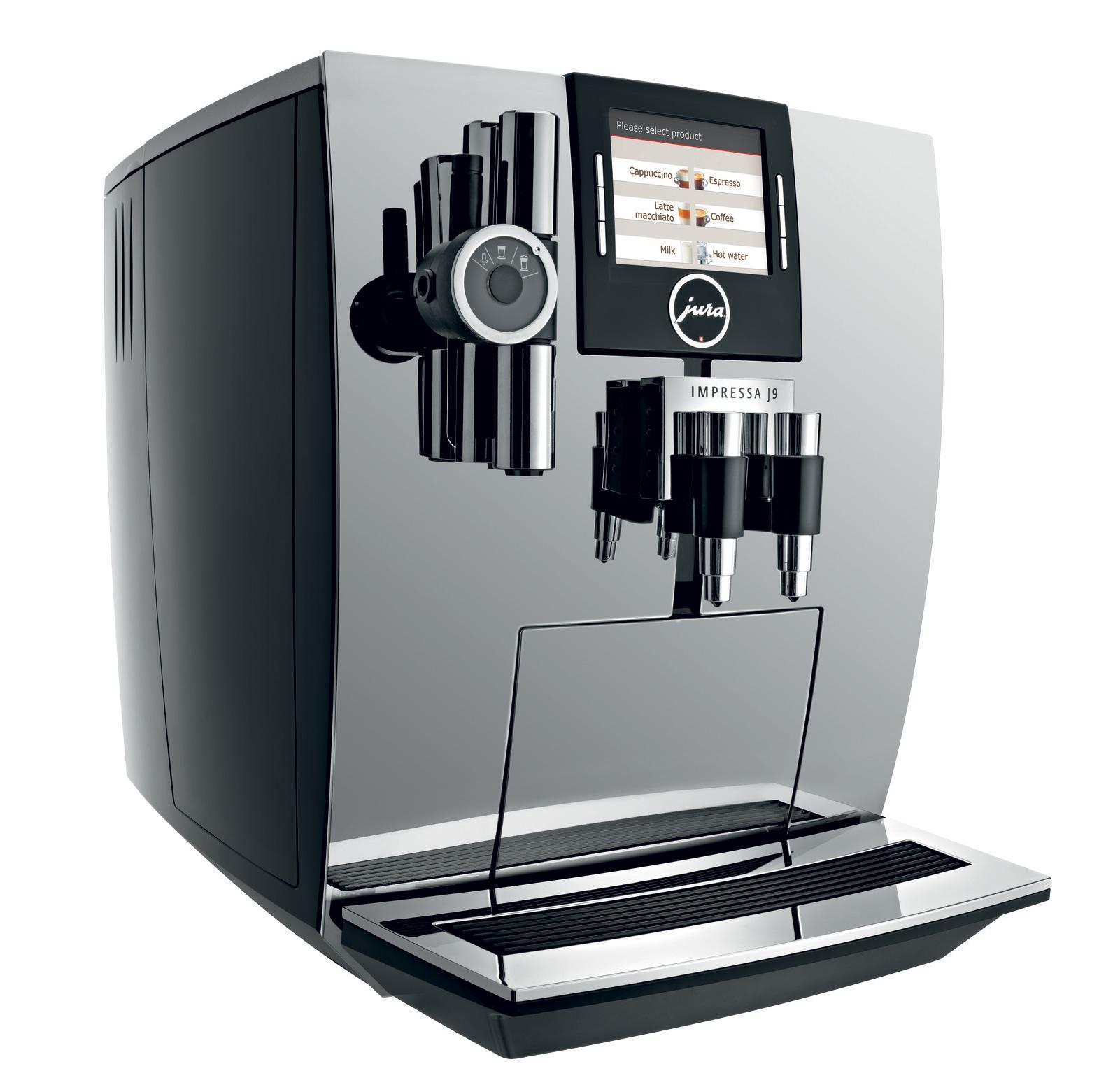 jura impressa j9 one touch tft chrome best espresso machine 1st in coffee 13673. Black Bedroom Furniture Sets. Home Design Ideas