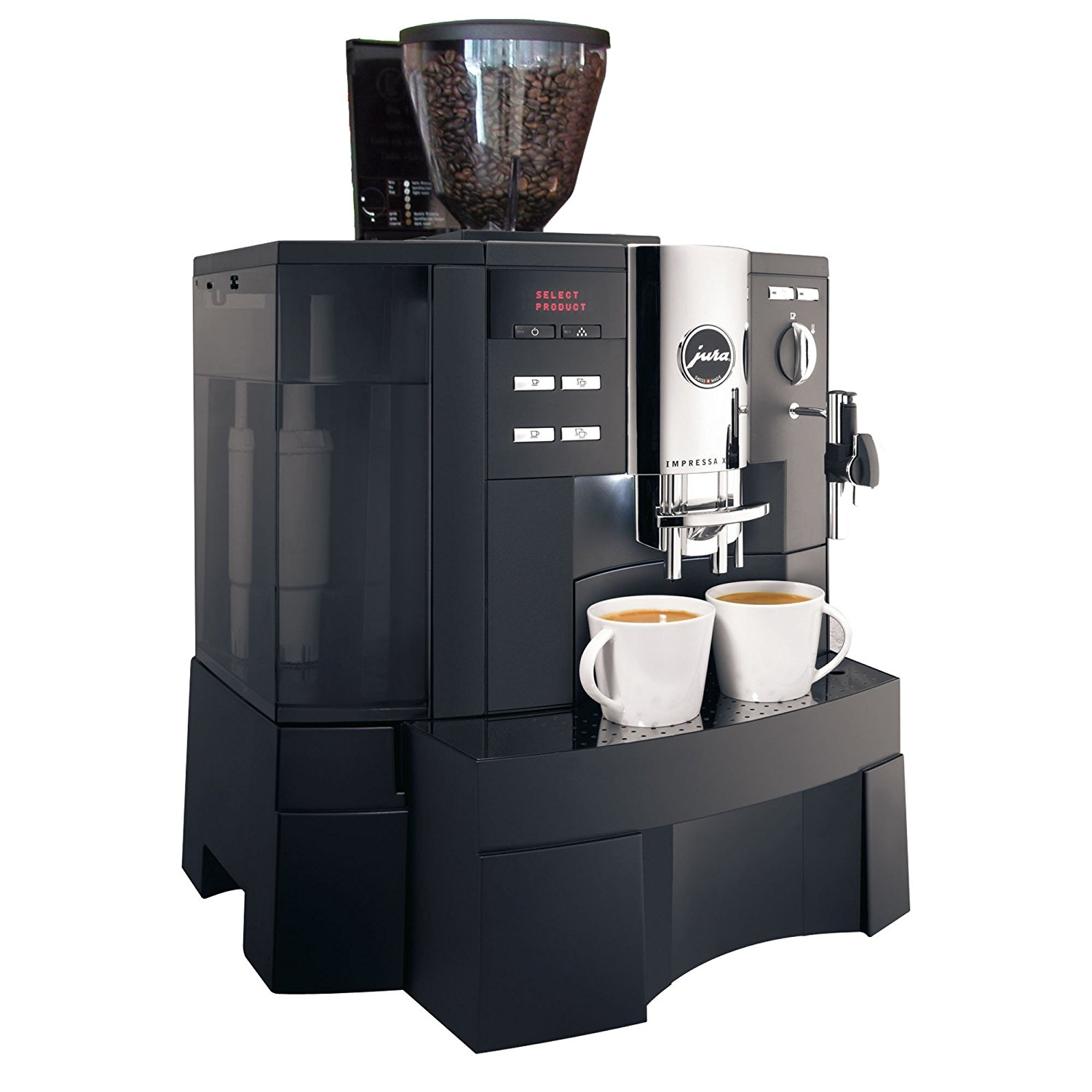jura xs90 jura impressa xs90 one touch 1st in coffee. Black Bedroom Furniture Sets. Home Design Ideas