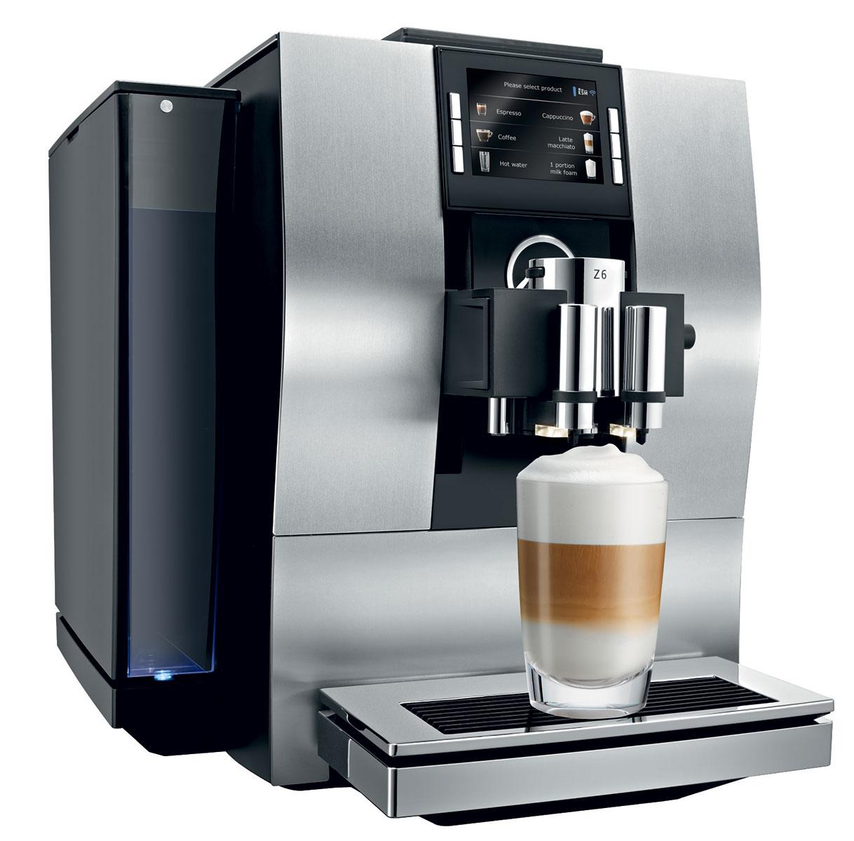 refurbished jura z6 jura z6 coffee machine 1st in coffee. Black Bedroom Furniture Sets. Home Design Ideas