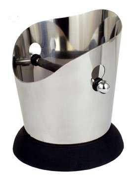 Stainless Steel Round Knock Box