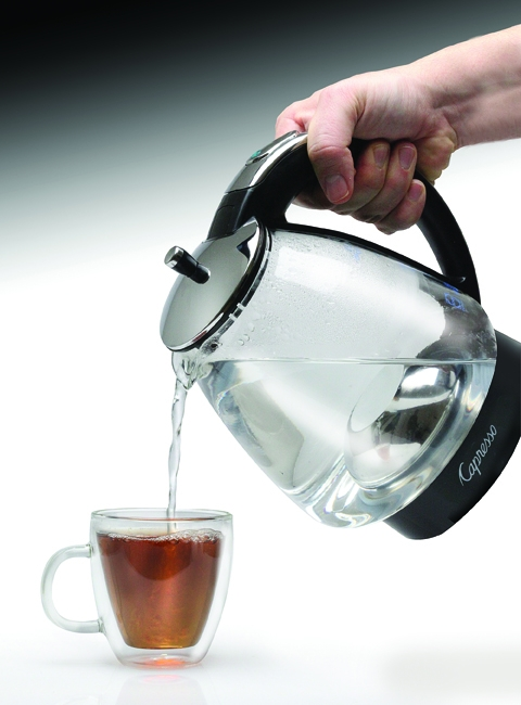 Capresso Glass Kettle Capresso H20 Glass Water Kettle