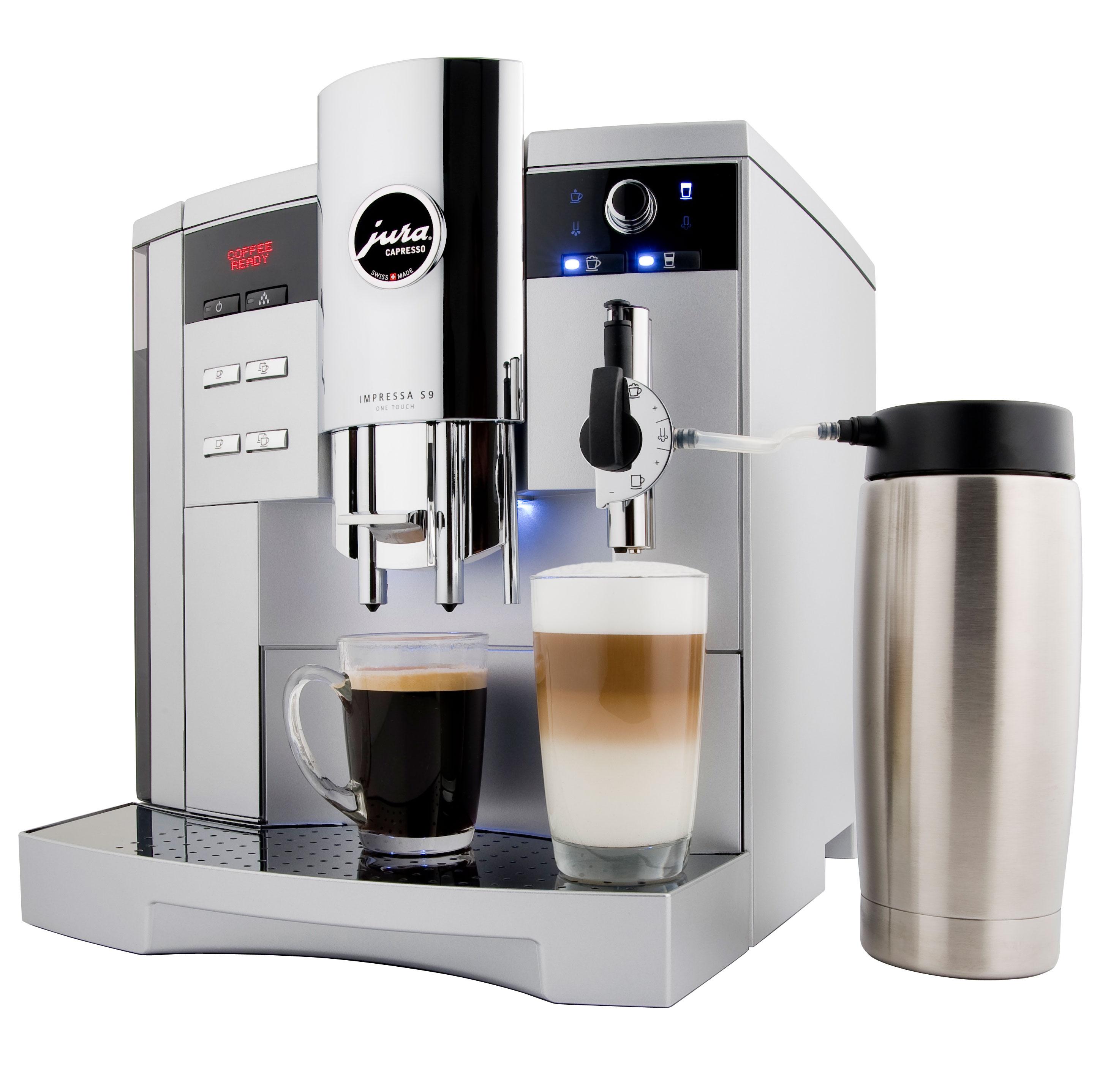 Jura Impressa S9 Classic Black One Touch Espresso Coffee Machine BRAND