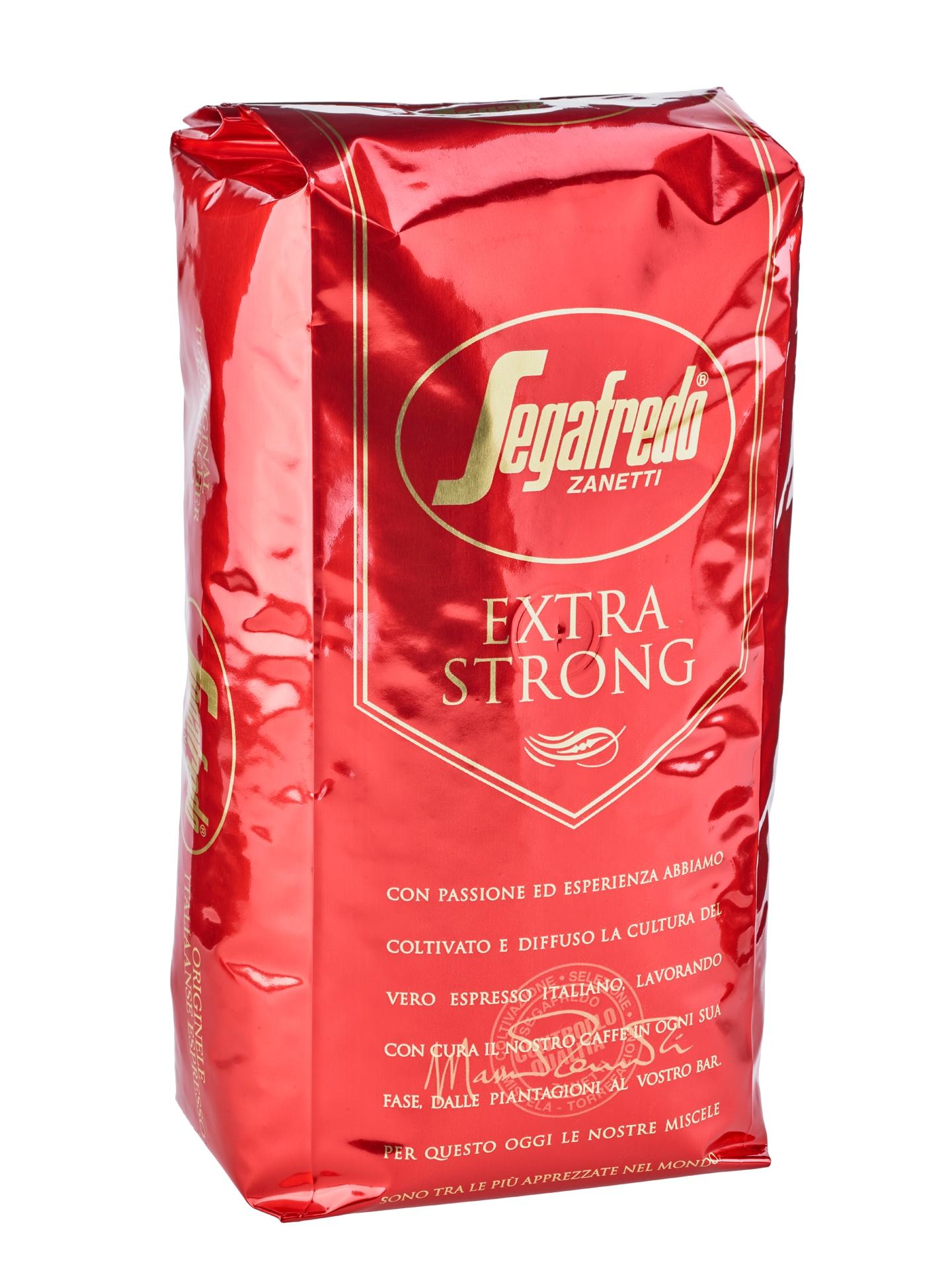 Segafredo Extra Strong Espresso Coffee Beans Segafredo Blend