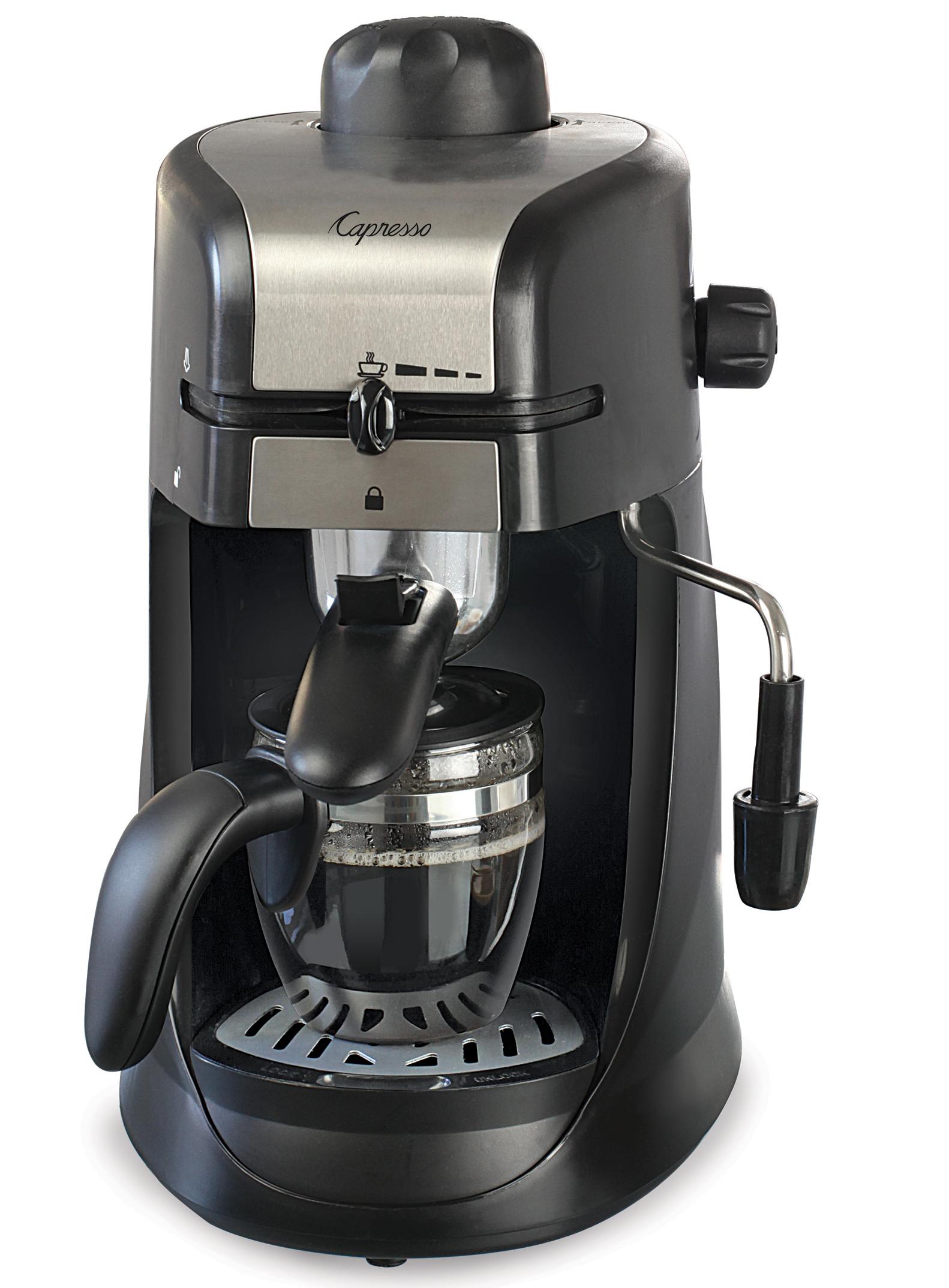 Cuisinart Coffee Maker Heating Element Not Working : Capresso 4-Cup Espresso Cappuccino Machine 2014