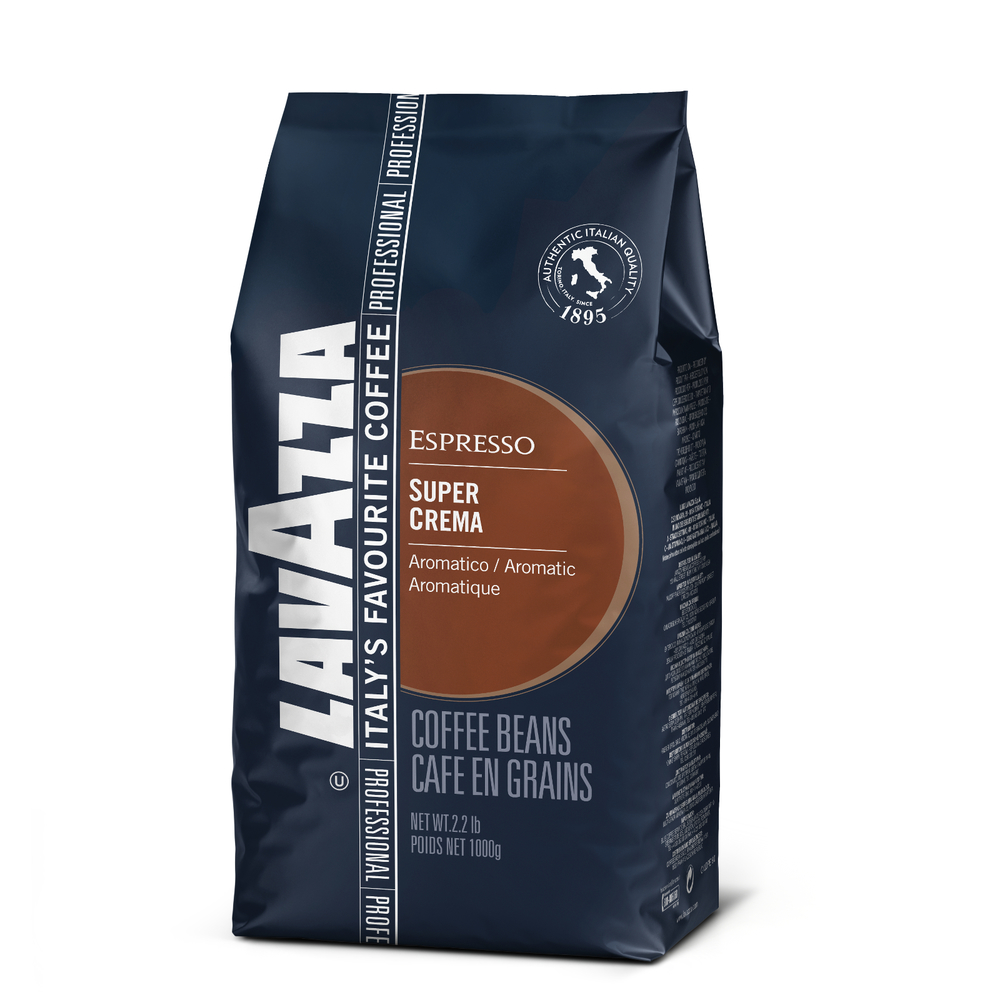 Lavazza Super Crema Espresso Beans | Lavazza Whole Bean Coffee